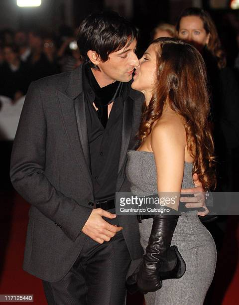 Adrien Brody and Elsa Pataky during The Times BFI London Film Festival Hollywoodland Premiere at Odeon West End in London Great Britain