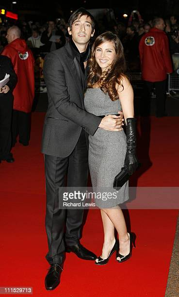 Adrien Brody and Elsa Pataky during The Times BFI London Film Festival 'Hollywoodland' Foyer at Odeon West End in London Great Britain