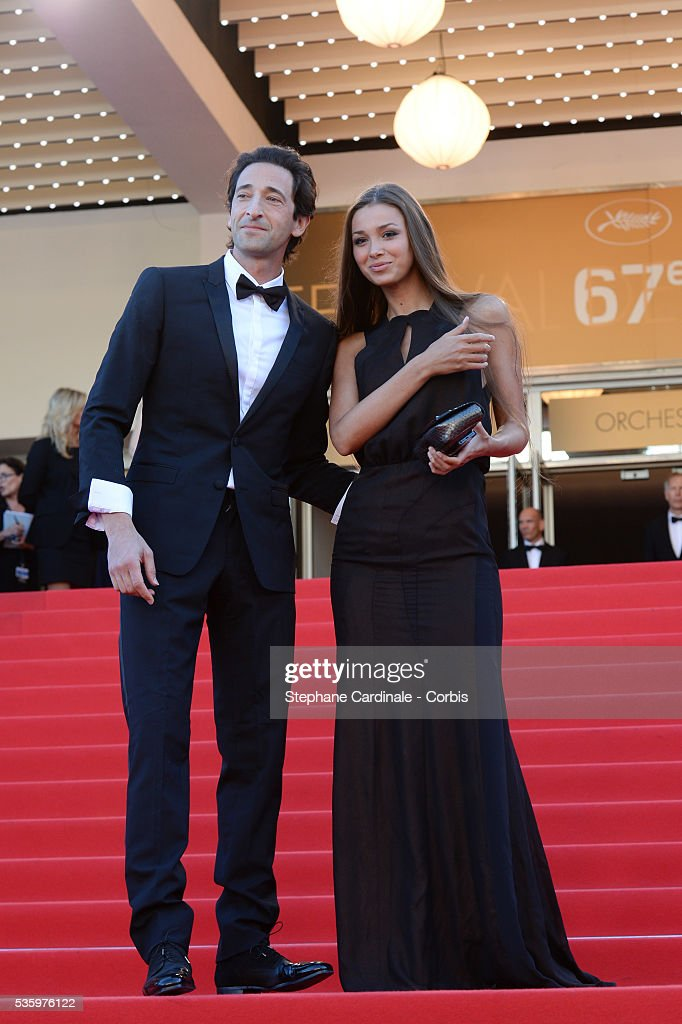 Adrien Brody and Lara Leito at the Closing ceremony and 'A Fistful of Dollars' screening during 67th Cannes Film Festival