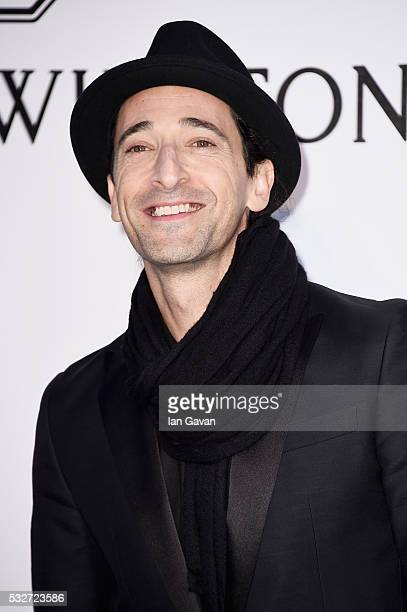 Adrien Brody arrives at amfAR's 23rd Cinema Against AIDS Gala at Hotel du CapEdenRoc on May 19 2016 in Cap d'Antibes France