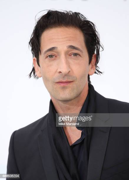 Adrien Brody arrives at the amfAR Gala Cannes 2017 at Hotel du Cap-Eden-Roc on May 25, 2017 in Cap d'Antibes, France.