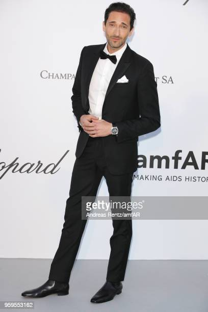 Adrien Brody arrives at the amfAR Gala Cannes 2018 at Hotel du CapEdenRoc on May 17 2018 in Cap d'Antibes France