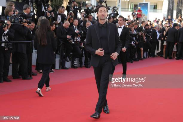Adrien Brody attend the Closing Ceremony screening of The Man Who Killed Don Quixote during the 71st annual Cannes Film Festival at Palais des...