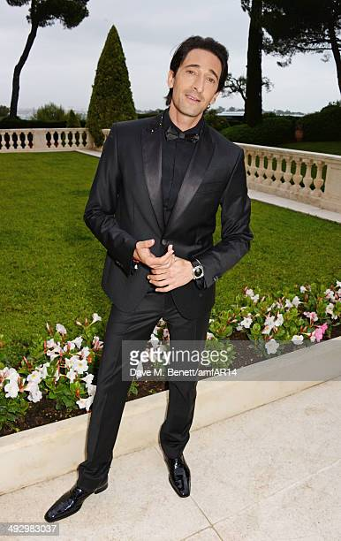 Adrien Brody attends amfAR's 21st Cinema Against AIDS Gala presented by WORLDVIEW, BOLD FILMS, and BVLGARI at Hotel du Cap-Eden-Roc on May 22, 2014...