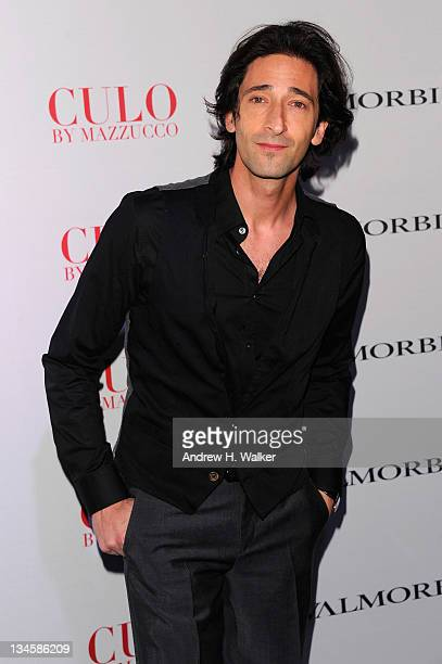 """Adrien Brody attends Andy Valmorbida, Jimmy Iovine, And Sean """"Diddy"""" Combs, Celebrate Culo By Mazzucco, Presented By VistaJet at Mr. Chow's on..."""