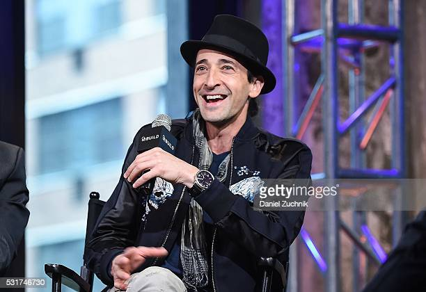 Adrien Brody attends AOL Build to discuss the film 'Manhattan Night' on May 16, 2016 in New York, New York.