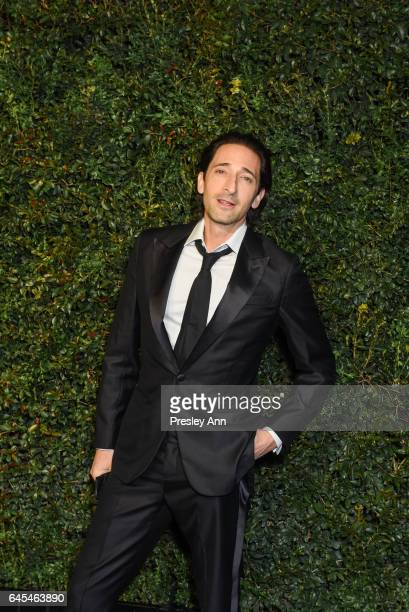 Adrien Brody attends Charles Finch and CHANEL PreOscar Awards Dinner at Madeo Restaurant on February 25 2017 in Los Angeles California