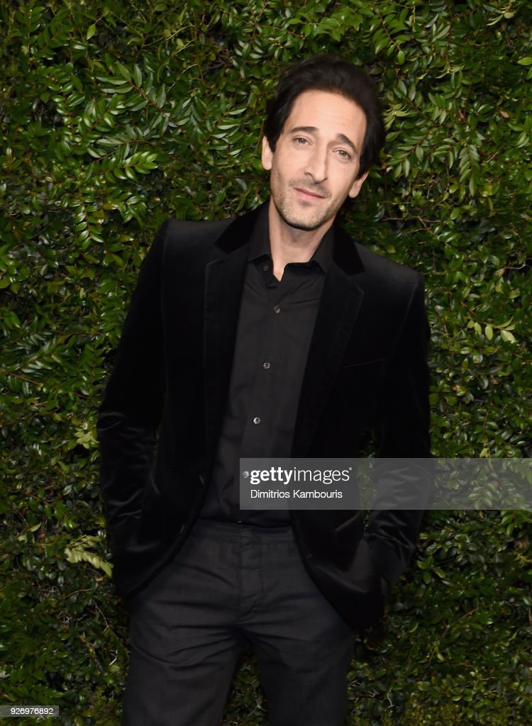 Adrien Brody attends Charles Finch and Chanel Pre-Oscar Awards Dinner at Madeo in Beverly Hills on March 3, 2018 in Beverly Hills, California.