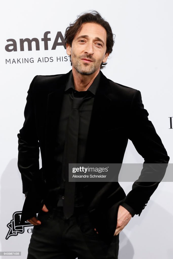 Adrien Brody attends during the 2018 amfAR Gala Sao Paulo at the home of Dinho Diniz on April 13, 2018 in Sao Paulo, Brazil.
