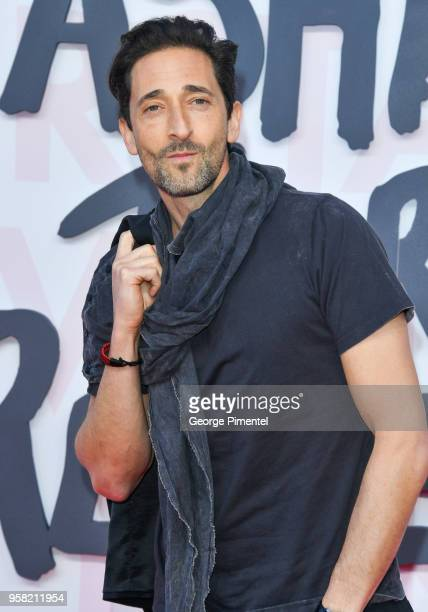 Adrien Brody attends Fashion For Relief Cannes 2018 during the 71st annual Cannes Film Festival at Aeroport Cannes Mandelieu on May 13, 2018 in...