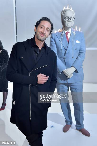 Adrien Brody attends Mr Chow 50 Years on February 16 2018 in Vernon California