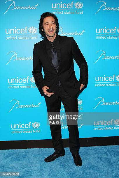 Adrien Brody attends the 2011 UNICEF Snowflake ball at Cipriani 42nd Street on November 29 2011 in New York City