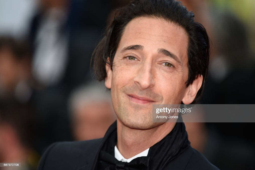 Adrien Brody attends the 70th Anniversary of the 70th annual Cannes Film Festival at Palais des Festivals on May 23, 2017 in Cannes, France.