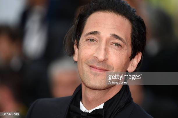 Adrien Brody attends the 70th Anniversary of the 70th annual Cannes Film Festival at Palais des Festivals on May 23 2017 in Cannes France