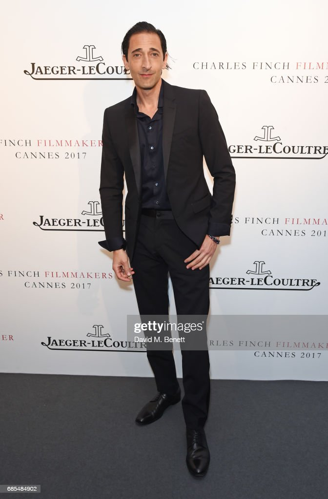 Adrien Brody attends The 9th Annual Filmmakers Dinner hosted by Charles Finch and Jaeger-LeCoultre at Hotel du Cap-Eden-Roc on May 19, 2017 in Cap d'Antibes, France.
