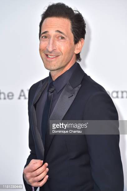 Adrien Brody attends the amfAR Cannes Gala 2019 at Hotel du Cap-Eden-Roc on May 23, 2019 in Cap d'Antibes, France.