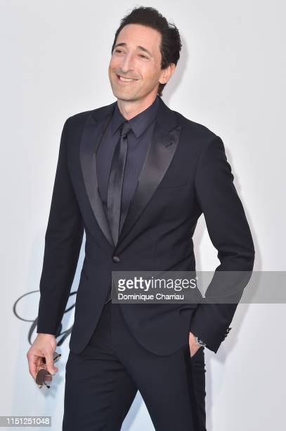 Adrien Brody attends the amfAR Cannes Gala 2019 at Hotel du CapEdenRoc on May 23 2019 in Cap d'Antibes France