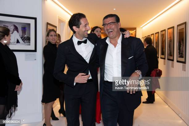 Adrien Brody attends the amfAR Gala Cannes 2018 after party at Hotel du CapEdenRoc on May 17 2018 in Cap d'Antibes France