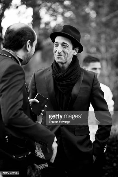 Adrien Brody attends the amfAR's 23rd Cinema Against AIDS Gala at Hotel du Cap-Eden-Roc on May 19, 2016 in Cap d'Antibes, France.