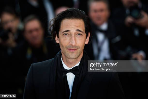 Adrien Brody attends the 'Based On A True Story' screening during the 70th annual Cannes Film Festival at Palais des Festivals on May 27 2017 in...