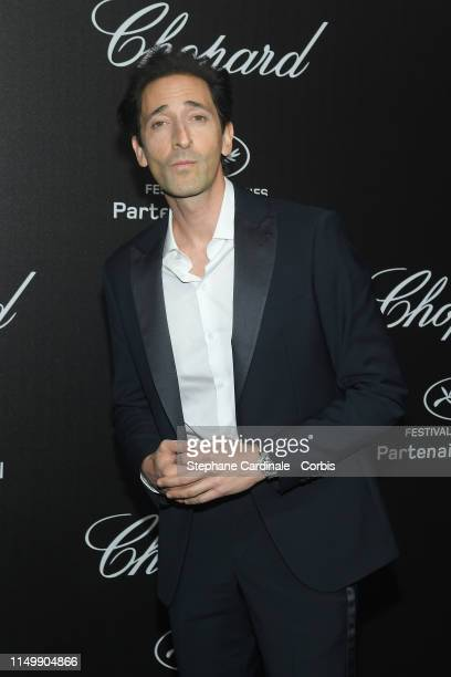 Adrien Brody attends the Chopard Party during the 72nd annual Cannes Film Festival on May 17 2019 in Cannes France