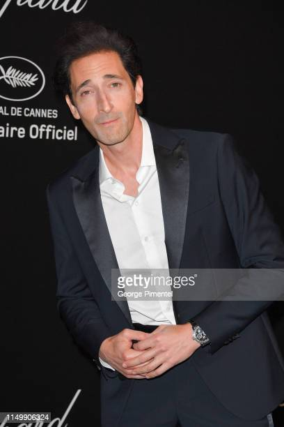 Adrien Brody attends the Chopard Party during the 72nd annual Cannes Film Festival on May 17, 2019 in Cannes, France.