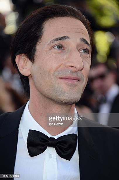 "Adrien Brody attends the ""Cleopatra"" Premiere during the 66th Annual Cannes Film Festival at Grand Theatre Lumiere on May 21, 2013 in Cannes, France."