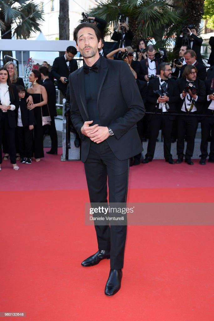 Adrien Brody attends the Closing Ceremony & screening of 'The Man Who Killed Don Quixote' during the 71st annual Cannes Film Festival at Palais des Festivals on May 19, 2018 in Cannes, France.