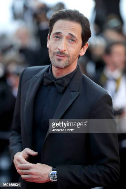 Adrien Brody attends the Closing Ceremony screening of The Man Who Killed Don Quixote during the 71st annual Cannes Film Festival at Palais des...
