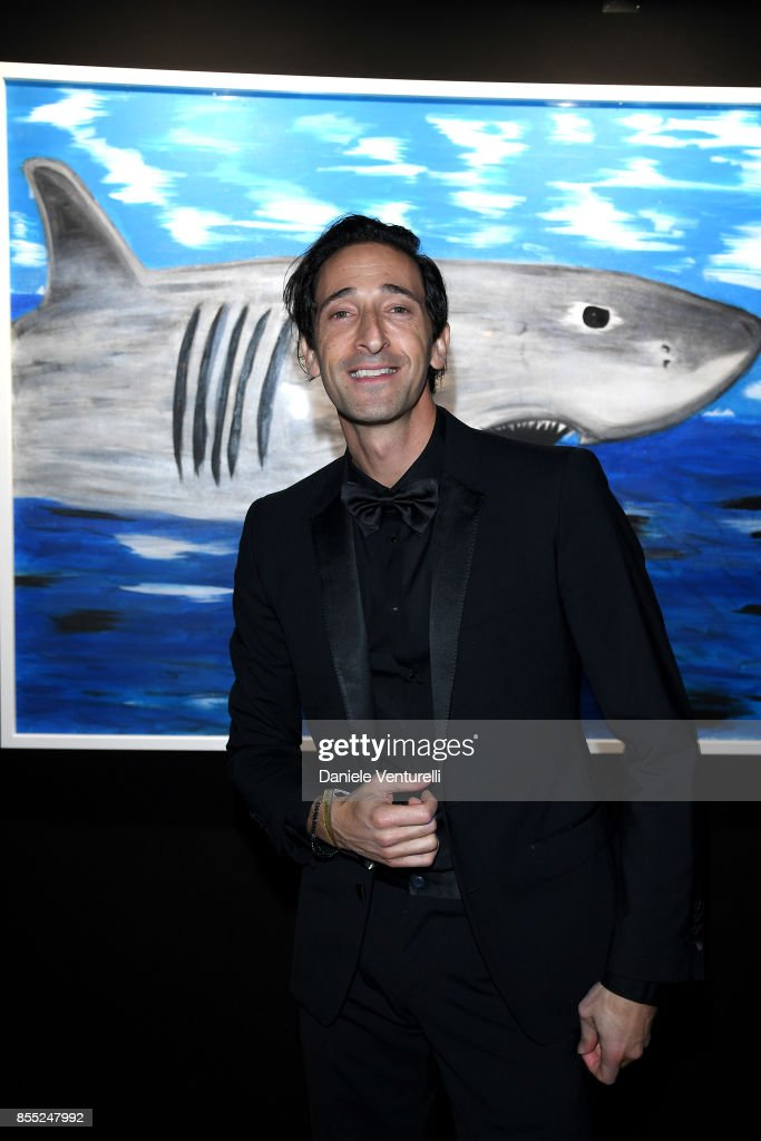 Adrien Brody attends the dinner for the inaugural 'Monte-Carlo Gala for the Global Ocean' honoring Leonardo DiCaprio at the Monaco Garnier Opera on September 28, 2017 in Monaco, Monaco.