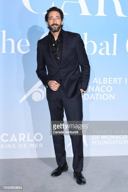 Adrien Brody attends the Gala for the Global Ocean hosted by HSH Prince Albert II of Monaco at Opera of MonteCarlo on September 26 2018 in MonteCarlo...