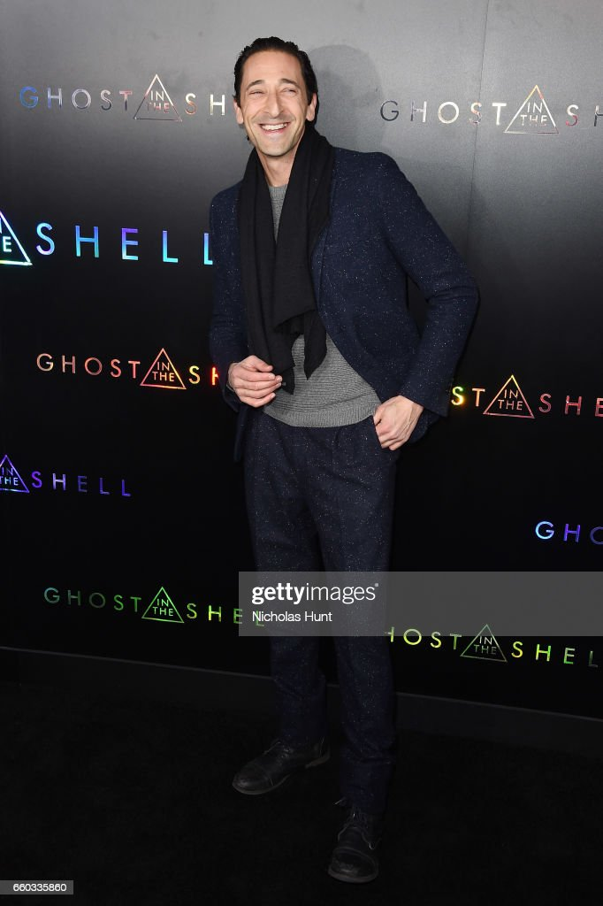Adrien Brody attends the 'Ghost In The Shell' premiere hosted by Paramount Pictures & DreamWorks Pictures at AMC Lincoln Square Theater on March 29, 2017 in New York City.