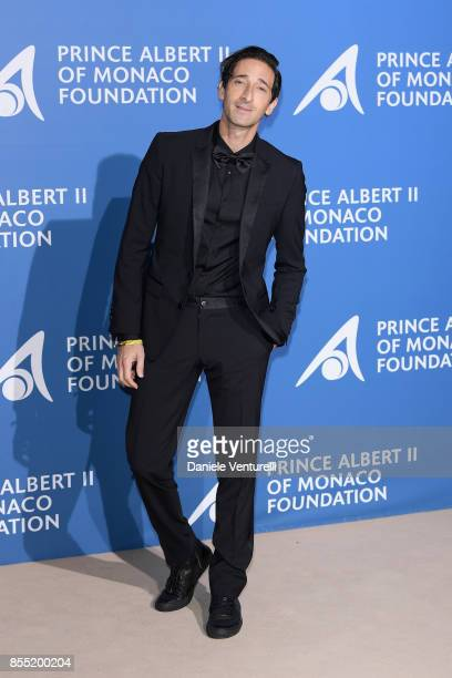 Adrien Brody attends the inaugural 'MonteCarlo Gala for the Global Ocean' honoring Leonardo DiCaprio at the Monaco Garnier Opera on September 28 2017...