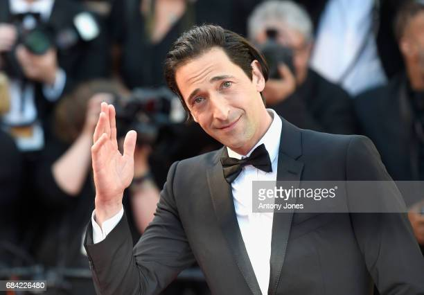 Adrien Brody attends the Ismael's Ghosts screening and Opening Gala during the 70th annual Cannes Film Festival at Palais des Festivals on May 17...