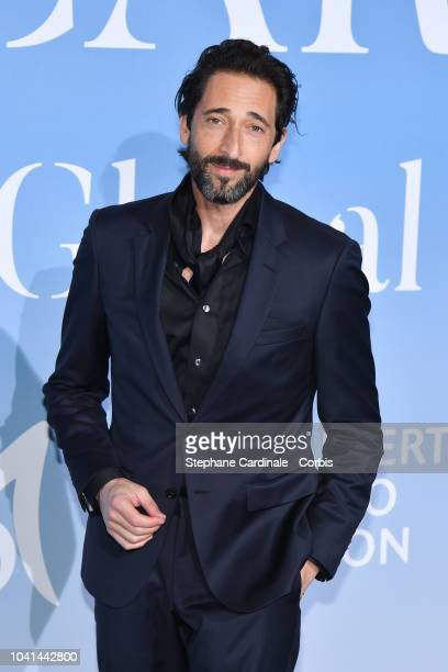Adrien Brody attends the MonteCarlo Gala for the Global Ocean 2018 on September 26 2018 in MonteCarlo Monaco