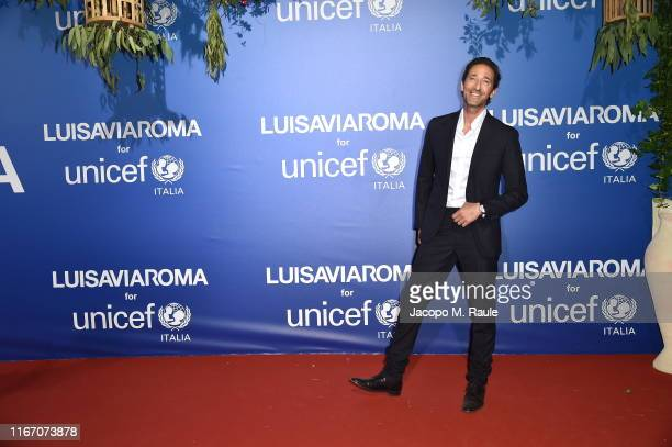 Adrien Brody attends the photocall at the Unicef Summer Gala Presented by Luisaviaroma at on August 09 2019 in Porto Cervo Italy