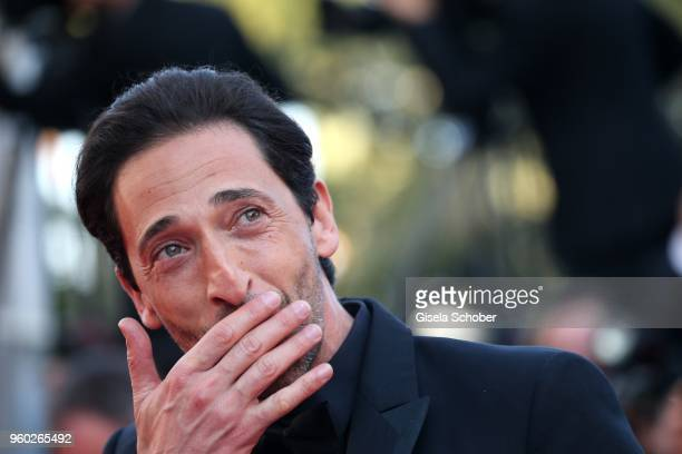 Adrien Brody attends the screening of Closing Ceremony The Man Who Killed Don Quixote during the 71st annual Cannes Film Festival at Palais des...
