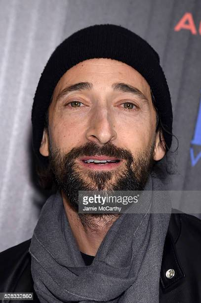 Adrien Brody attends the screening Of Marvel's Captain America Civil War hosted by The Cinema Society with Audi FIJI at Henry R Luce Auditorium at...