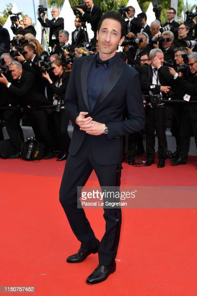 Adrien Brody attends the screening of Once Upon A Time In Hollywood during the 72nd annual Cannes Film Festival on May 21 2019 in Cannes France