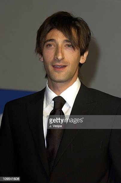 Adrien Brody during 2003 Cannes Film Festival Cinema Against Aids 2003 to benefit amfAR sponsored by Miramax Auction at Moulin de Mougins in Cannes...