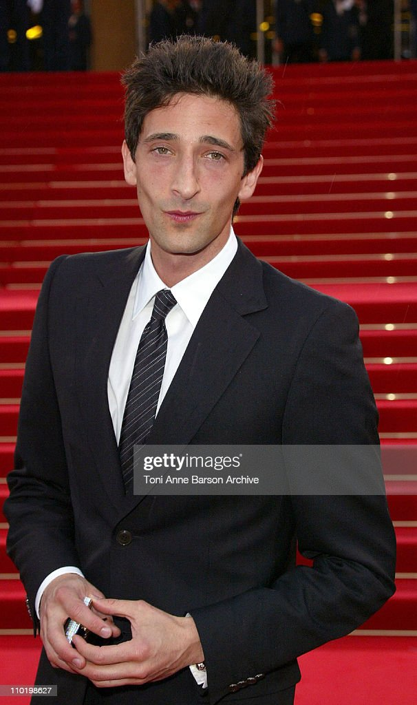 Adrien Brody during 2004 Cannes Film Festival - 'Troy' Premiere at Palais Du Festival in Cannes, France.
