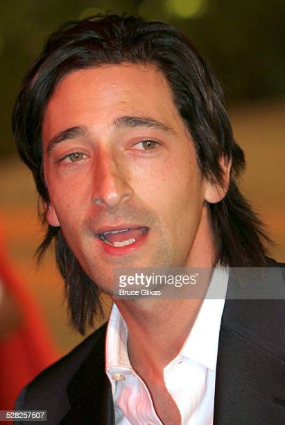 Adrien Brody during 2006 Vanity Fair Oscar Party at Morton's in West Hollywood California United States