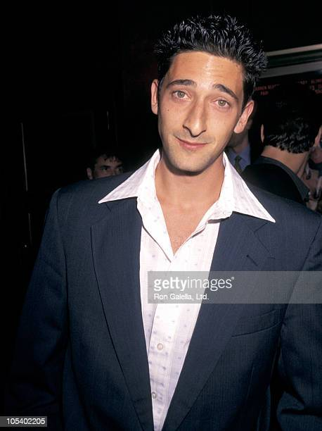 Adrien Brody during 'Bulworth' New York Premiere at Ziegfeld Theatre in New York City New York United States
