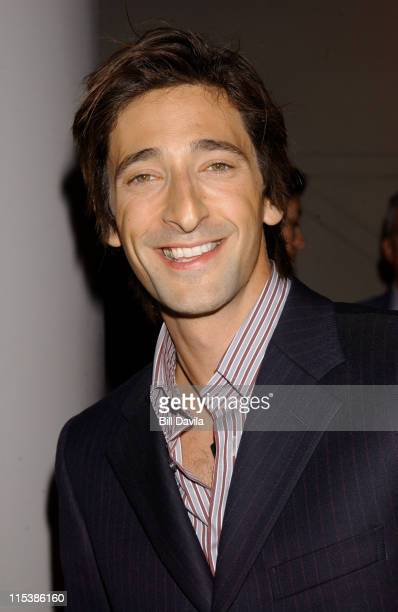 Adrien Brody during 'dummy' New York Premiere Inside Arrivals at Loews Theater Lincoln Square in New York City New York United States