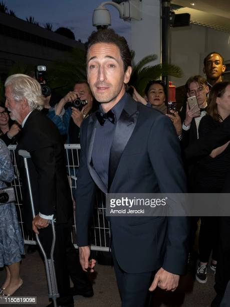 Adrien Brody is seen during the 72nd annual Cannes Film Festival on May 21, 2019 in Cannes, France.