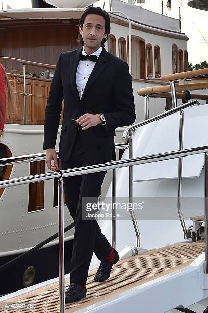 Adrien Brody is seen on day 9 of the 68th annual Cannes Film Festival on May 21 2015 in Cannes France