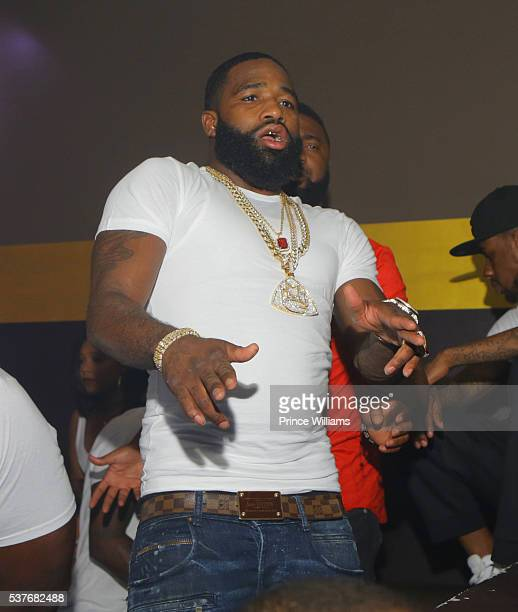 Adrien Broner attends a Party at Josephine Lounge on May 30 2016 in Atlanta Georgia