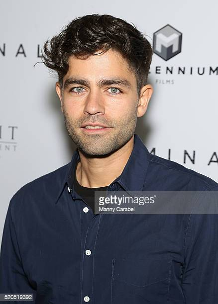 Adrien Grenier attends the New York Premiere of 'CRIMINAL' at AMC Loews Lincoln Square 13 theater on April 11 2016 in New York City