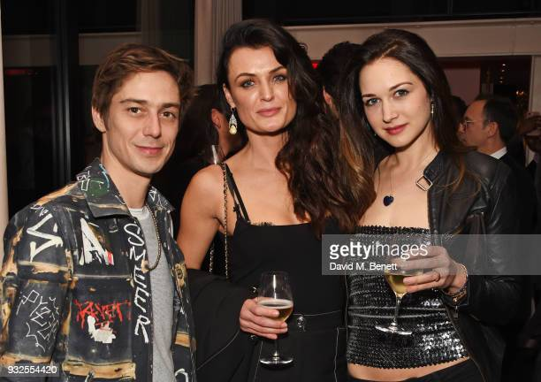 Adrien Jolivet Lyne Renee and guest attend an after party following the Global Premiere of Deep State the new espionage thriller from FOX at The...