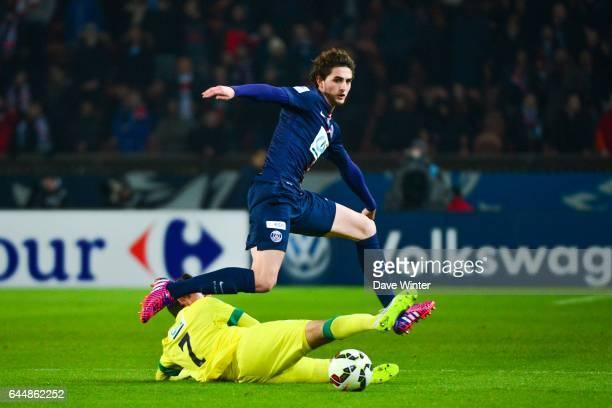 Adrien RABIOT / Alejandro BEDOYA Paris Saint Germain / Nantes 1/8Finale Cupe de France Photo Dave Winter / Icon Sport